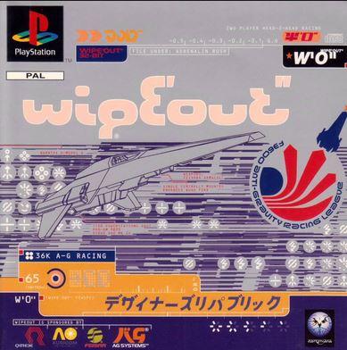 Juego de Wipeout de Playstation